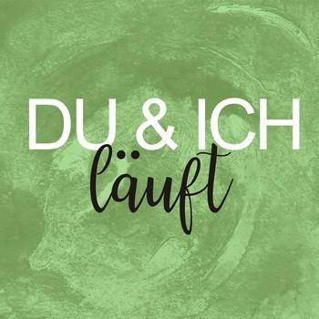 Leinwandbild DU & ICH LÄUFT auf Keilrahmen green quadratisch