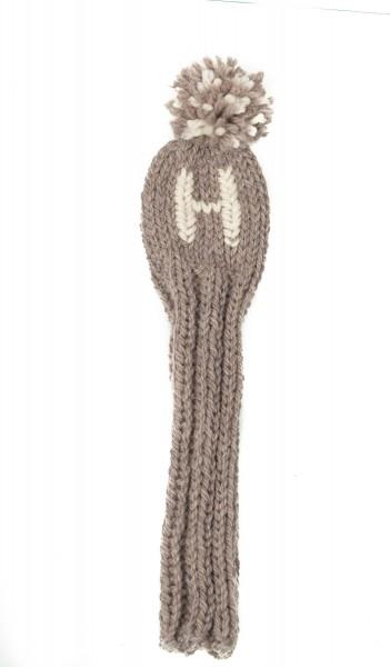 Headcover Golfschläger Handstrick Wolle