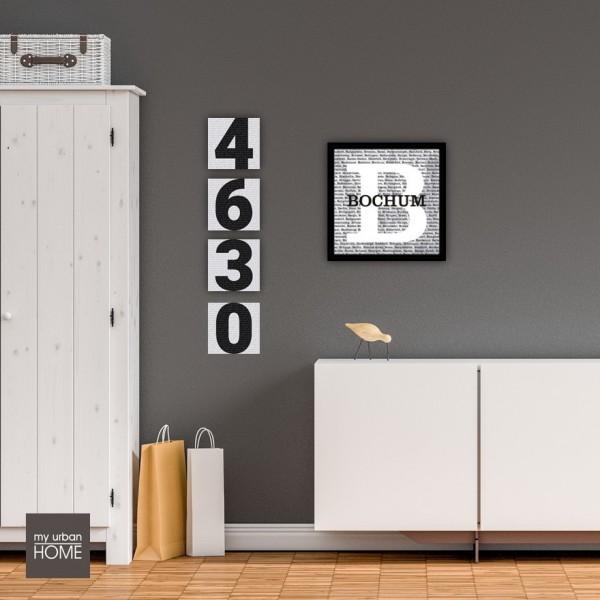 Inspiration TEAMWORK 8-teiliges Set Leinwand auf Keilrahmen 8 Bilder  20x20 cm