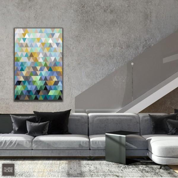 Leinwandbild ART 6006 auf Keilrahmen Hochformat 80x120cm