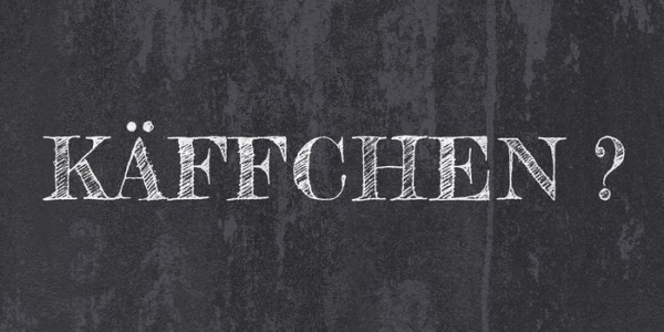 Leinwandbild KÄFFCHEN Leinwand auf Keilrahmen schwarz-weiß KREIDE TAFELOPTIK Querformat