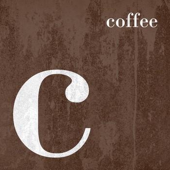 COLOR Buchstabenserie COFFEE Dekobuchstabe
