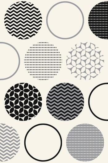 Leinwandbild POINTS 5339 weiß-schwarz-grau Leinwand auf Keilrahmen Hoch-oder Querformat