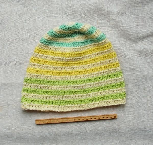 Mütze Prototyp pastell
