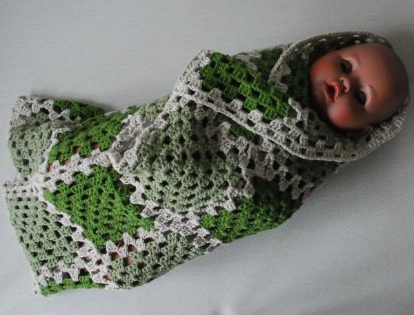 Babydecke Moosy 91 X 64 Cm Gehäkelt Baumwolle Wohnencom