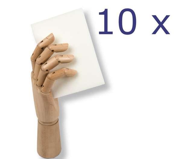 Schmutzradierer zu 10 Stück im Karton für den Reinigungsprofi