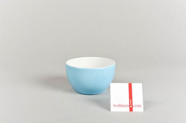 Zuckerschale hellblau Dibbern Solid Color
